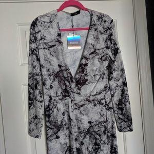 Tye Dye wrap playsuit brand new with tags